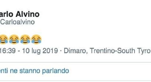 Messaggio criptico di Alvino su Twitter: riferimento a Wanda Nara in treno a Napoli? [FOTO]