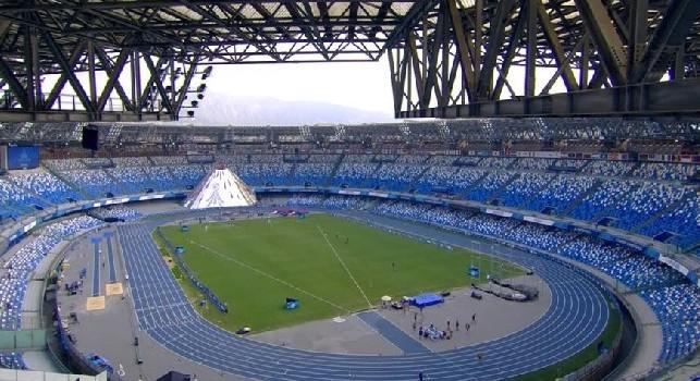 Universiadi, sprinter algerino colto da malore al San Paolo: ricoverato al Cardarelli