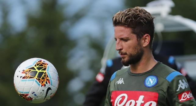 Dries Mertens, attaccante della SSC Napoli