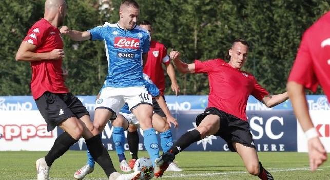Marko Rog, centrocampista croato del Napoli