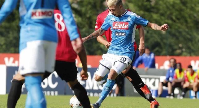 Gaetano, l'agente: Tante squadre si sono interessate a lui, ma non escludo una permanenza a Napoli