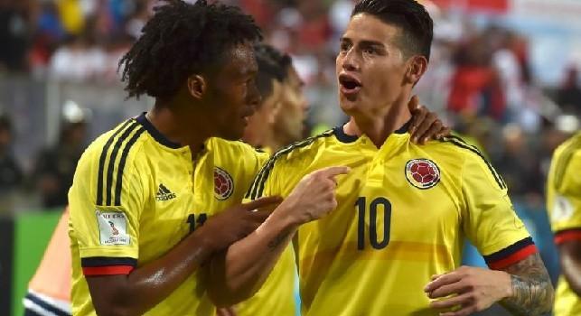 Giorno dell'Indipendenza in Colombia, la SSC Napoli celebra la ricorrenza... e i tifosi invocano James [FOTO]