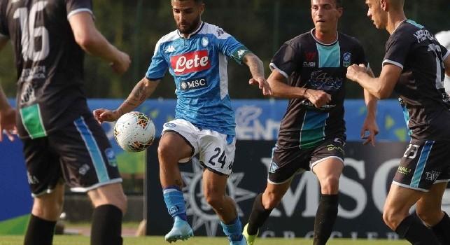 Niente <i>mal di pancia</i>, sorrisi e un consiglio a Ancelotti: così Raiola ha fatto rinascere il rapporto Insigne-Napoli