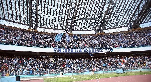 Tifosi al San Paolo