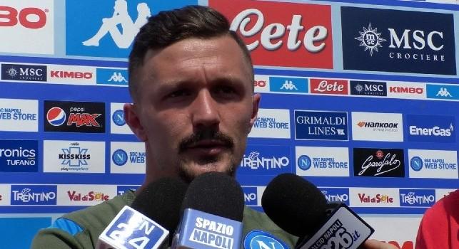 Mario Rui, difensore del Napoli, a Calcio Napoli 24
