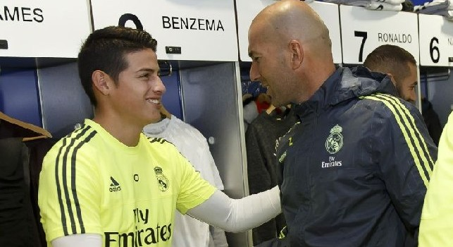 UFFICIALE - Celta Vigo-Real Madrid, James Rodriguez parte dalla panchina