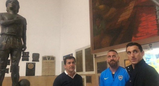UFFCIALE - De Rossi è un nuovo giocatore del Boca Juniors [VIDEO]