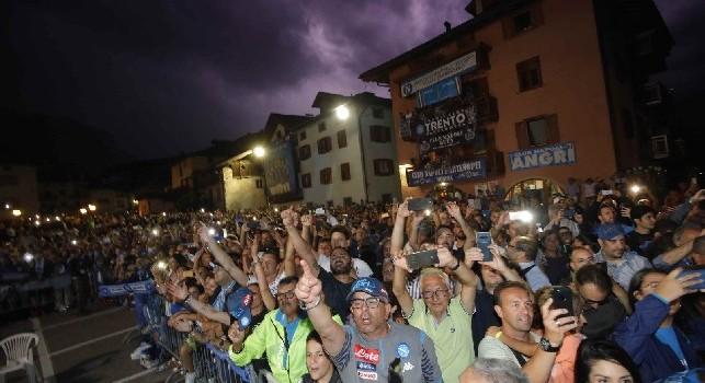 Record per il ritiro del Napoli a Dimaro: è stato il più grande d'Europa, numeri incredibili