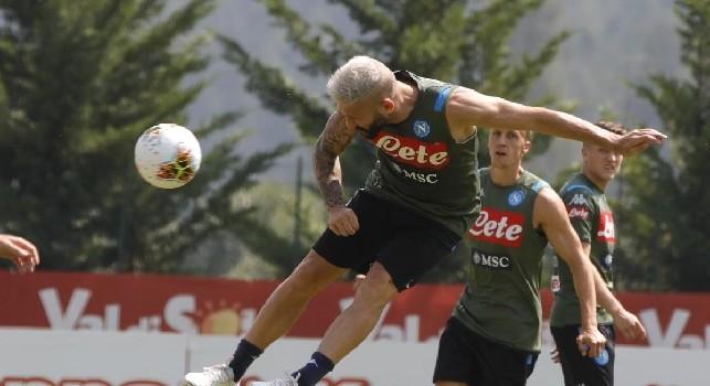 Lorenzo Tonelli, difensore del Napoli