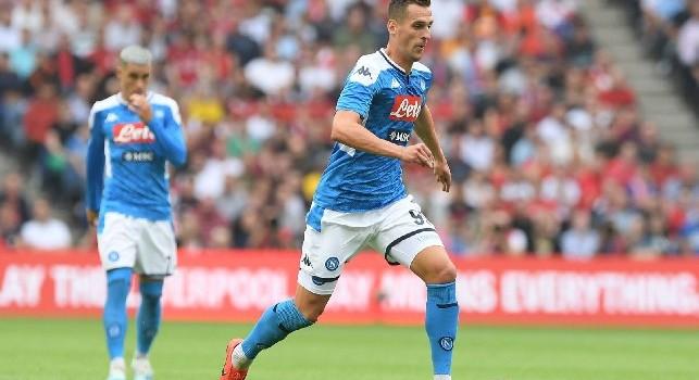 Scambio Milik-Icardi, Il Mattino: Milik <i>sacrificato</i> nella trattativa Icardi: il Napoli cerca l'accordo con l'Inter