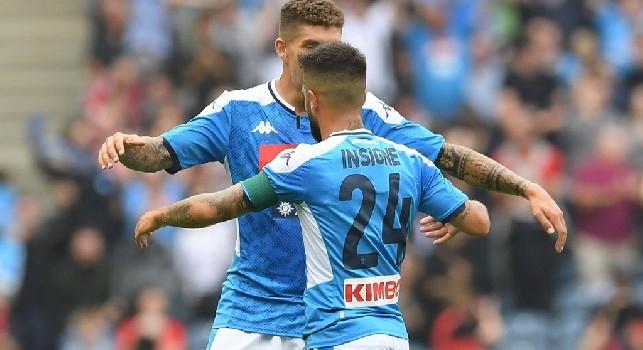 Insigne ribalta la situazione: Napoli in vantaggio allo scadere del primo tempo!