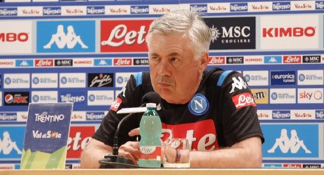 Ancelotti su Lozano: Aumenta la nostra qualità, è stata una lunga trattativa. Sarà disponibile contro la Juve