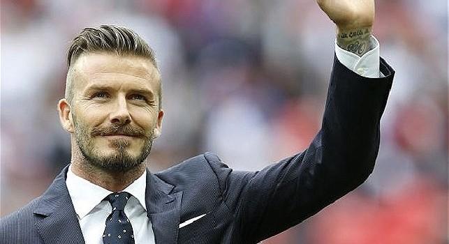 Beckham fermato ad Amalfi, ha evitato una multa con un selfie