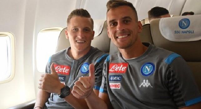 Fiorentina-Napoli, CorSport: Milik sulla via del recupero! Sensazioni ottimistiche, a Firenze ci sarà