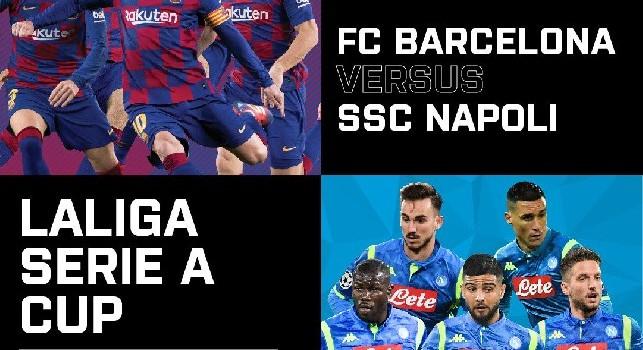 Calendario Partite Barcellona.Come Acquistare Barcellona Napoli Su Sky Sport Partita Non