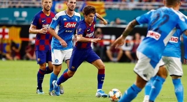 Fabian Ruiz si divora il gol del vantaggio, primo tempo che termina a reti bianche
