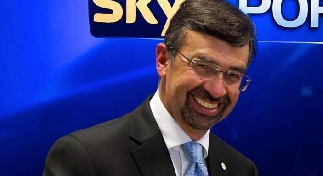 La SSC Napoli elogia Sky: Complimenti a Massimo Marianella per la sua telecronaca