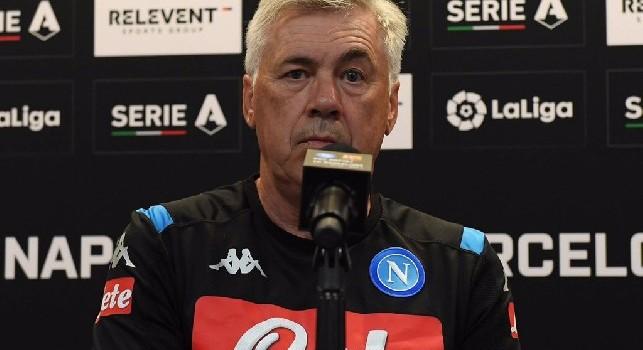 Ancelotti: ADL è uno dei pochi presidenti che mi ha rispettato. Ibra al Napoli? Se viene gratis...
