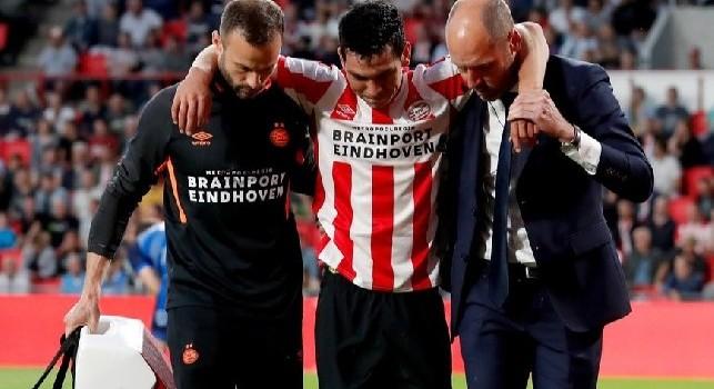 Dall'Olanda: Lozano non si è allenato! Può saltare l'Europa League, indizio sul passaggio al Napoli?