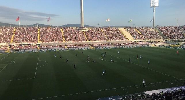 Biglietti Fiorentina-Napoli settore ospiti: da oggi in vendita alle 15, il prezzo