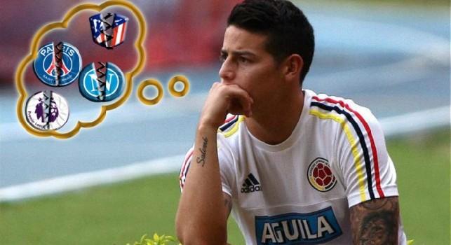 Futuro James Rodriguez, che estate difficile: dalla decisione del Bayern al no del PSG