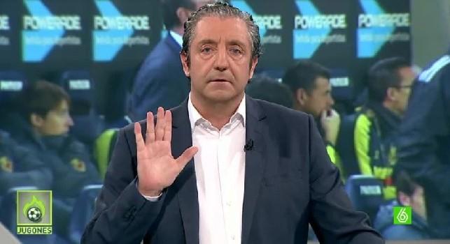 El Chiringuito, Pedrerol contro Zidane: Deve schierare i migliori e James è uno di questi, punto