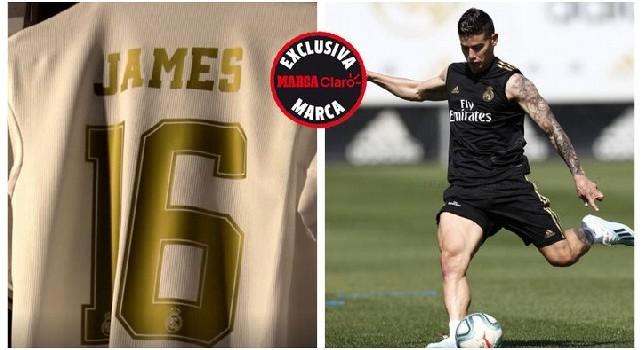 Dalla Spagna - Nello store del Real Madrid spunta la maglietta di James Rodriguez [FOTO]