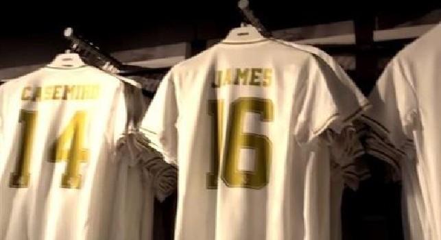 Dalla Spagna - James Rodriguez, la maglia col numero 16 è già in vendita al Bernabeu: per quanto tempo? [FOTO]
