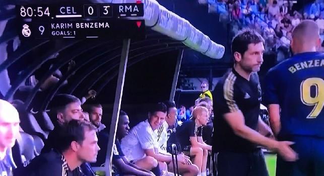 Celta Vigo - Real Madrid, i blancos vincono 3-1. Solo panchina per James, sorriso beffardo al terzo cambio [FOTO]