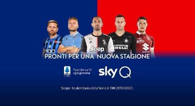 Promo Serie A senza il Napoli, il direttore SKY Ferri spiega: Questione di diritti, c'è uno spot tutto dedicato agli azzurri! [FOTO&VIDEO]