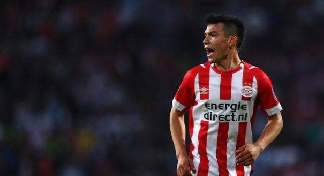 Hirving Lozano, attaccante messicano del PSV Eindhoven