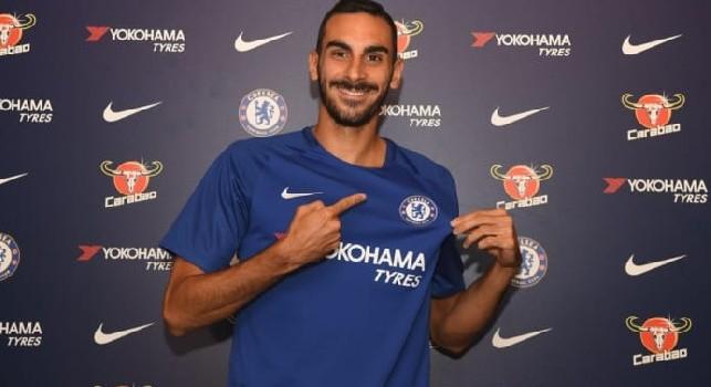Zappacosta con la maglia del Chelsea