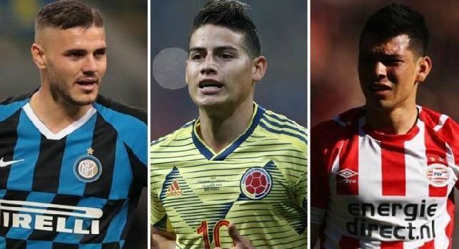 Chiarugi: Se il Napoli prende Lozano, James e Icardi diventa la squadra più forte della Serie A