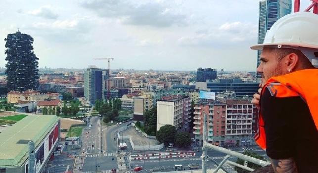 Icardi a Milano, indizio su Instagram: La mia nuova casa sta arrivando [FOTO]