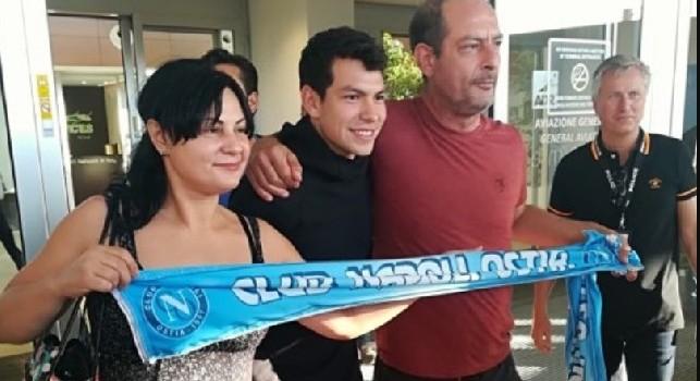 Lozano al Napoli, Il Mattino: in Messico trasmessa la diretta televisiva del suo arrivo