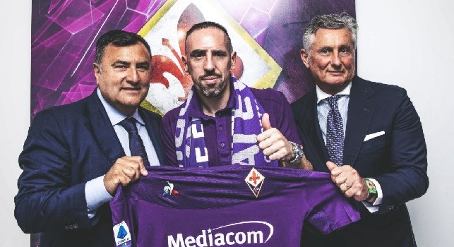 Fiorentina, Ribery si presenta: Non sono pronto per giocare con il Napoli ma se Montella me lo chiede rispondo presente!