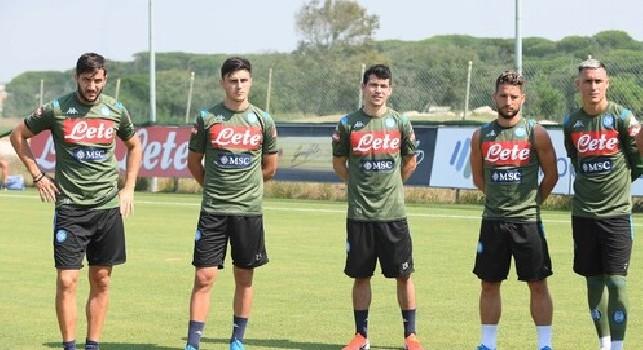 SSC Napoli, il report da Castel Volturno: squadra divisa in due gruppi, lavoro di scarico per chi ha giocato con la Fiorentina