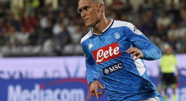 Il commento della SSC Napoli: Se il buongiorno si vede dal mattino, quello azzurro è un orizzonte di spettacolo puro!