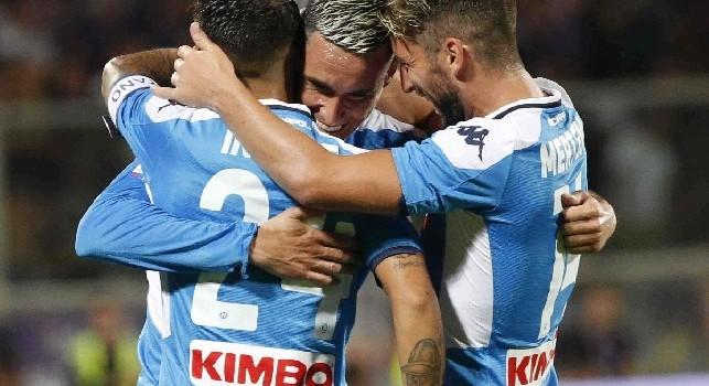 Opta - Insigne, Callejon e Mertens non segnavano nella stessa partita dal febbraio del 2018