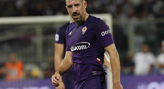 Fiorentina, Ribery: Orgoglioso del mio esordio. Che partita, grande battaglia!