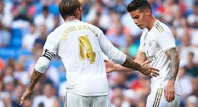 Real Madrid, presentata la lista UEFA: James c'è per la Champions League! Out Asensio