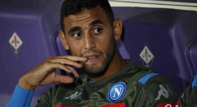 Assurdo Ghoulam, nuovo infortunio per l'algerino: salterà la partita con il Milan