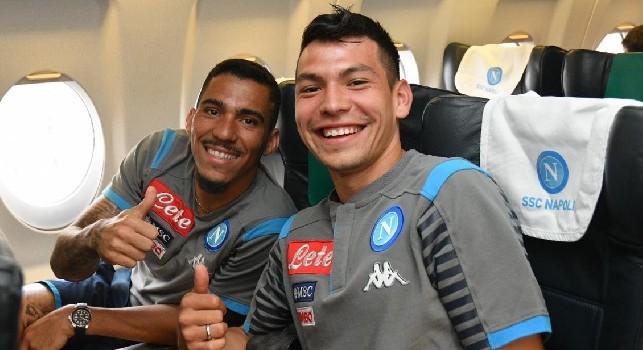 Ancora il Napoli! 3-2, gol di Lozano all'esordio [VIDEO]