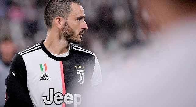 Juventus, Bonucci in conferenza: Con i meccanismi di Sarri diventeremo la squadra più forte d'Europa