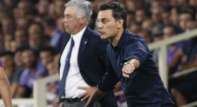 Fiorentina, Montella: Inter e Napoli sono più vicini alla Juve, lo scudetto non è già assegnato! Sulla carta non esiste niente di meglio di Koulibaly e Manolas, eppure...