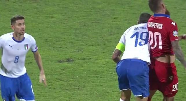 Karapetyan attacca Bonucci: Rispetto per la tua carriera ma quello che hai fatto è vergognoso [FOTO]