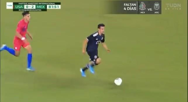 Lozano show col Messico: l'azzurro semina gli americani e serve l'assist del 3-0. Telecronisti messicani impazziti [VIDEO]