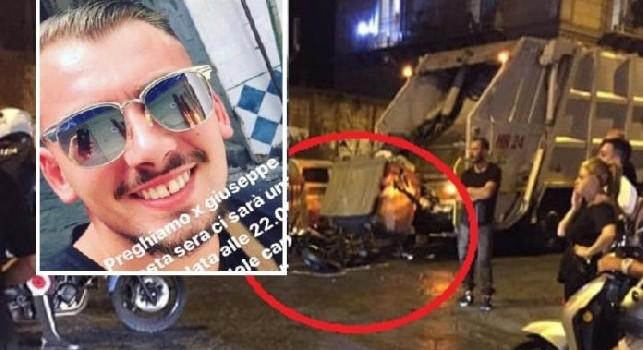 Napoli piange Giuseppe Menale, il ragazzo della Curva B è morto dopo l'incidente