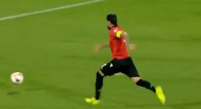 Hysaj in goal con la Nazionale albanese: è la seconda rete da professionista!