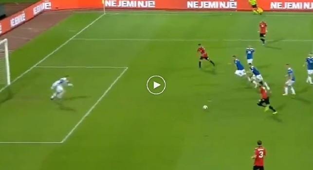 Qualificazioni Euro2020 - Albania-Islanda, in rete l'azzurro Elseid Hysaj! [VIDEO]